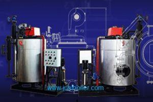 Steam-Boiler-pemanas asphalt dan crude palm oil di kapal tanker