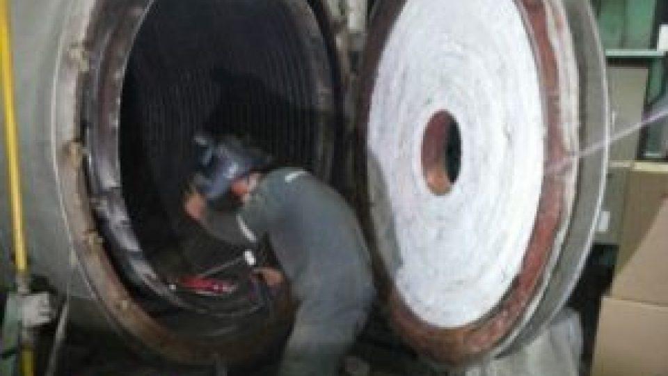 Service-coil-boiler