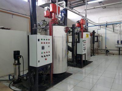 vertikal boiler