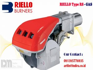 Burner riello type RS Gas